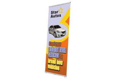 Bannerdisplay LIGHTNING (800 mm)