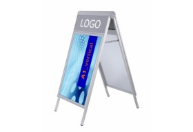 Kundenstopper A-LOGO