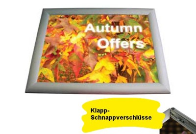 Poster-Wechselrahmen TRAPPA (A4-A0)
