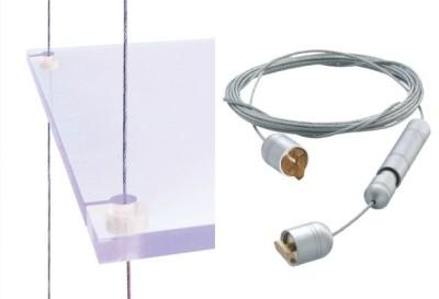 Prospekthalter Spannkabelsystem STRATA