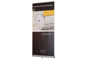 RollUp Banner Expand MediaScreen 1  (850 – 1500 mm)