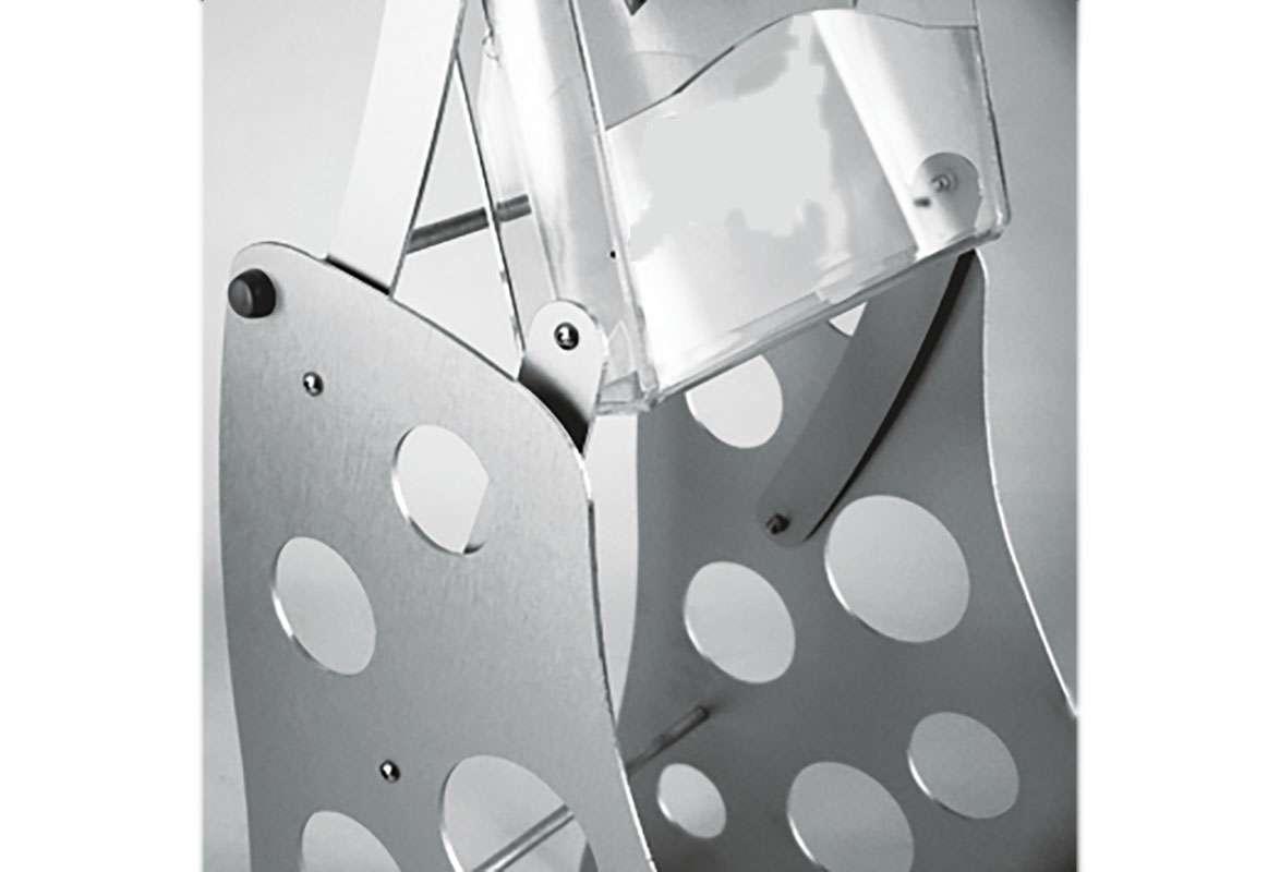 Prospektständer faltbar A4 SCREEN - Gestell