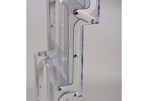 Prospektständer faltbar A4 TASTE - Prospektfächer