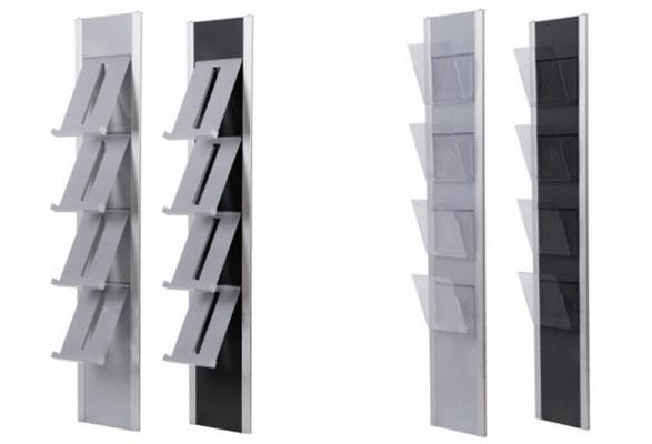 wandprospekthalter a4 spring wandprospekthalter. Black Bedroom Furniture Sets. Home Design Ideas