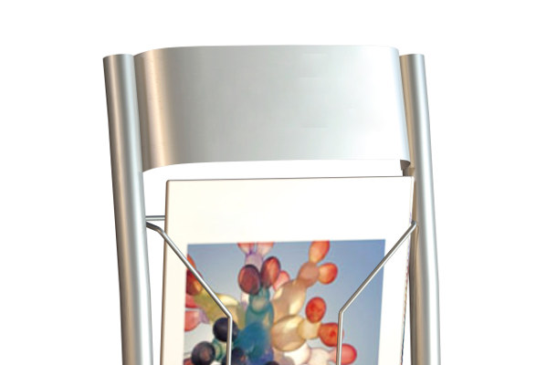 Wandprospekthalter TUNO FLEX Detail